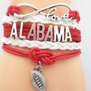 University of Alabama Bracelet with Charm